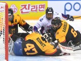 Gangneung, Korea - 12/04/2017 - Gangneung 2017 World Para Ice Hockey Championships A-Pool in the Gangneung Hockey Center. First day of competition. Match Korea x Germany. Photo by Ivo Gonzalez/Pocog