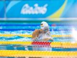 BARRA DA TIJUCA, BRASILIEN - SEPTEMBER 11: Elena Krawzow (GER) vom PSC Berlin e.V./Berlin [Paralympische Klassifizierung: S13] gibt alles am Tag Fünf der Paralympischen Spiele 2016 im SB13 Finale über 100m Brustschwimmen der Frauen im Olympic Aquatic Centre von Barra da Tijuca am 11.9.2016 in Rio de Janeiro/Brasilien. (© 2016 Oliver Kremer @ Pixolli Studios)